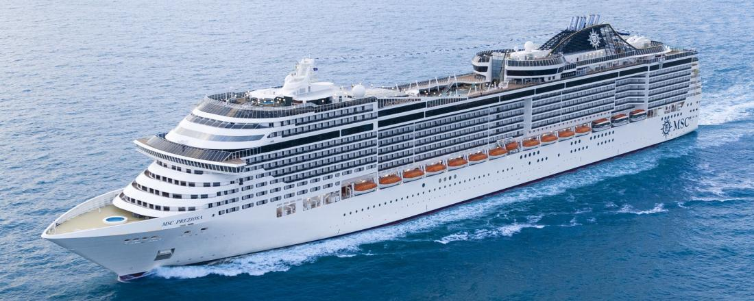 - MSC PREZIOSA - Germany, United Kingdom, Iceland